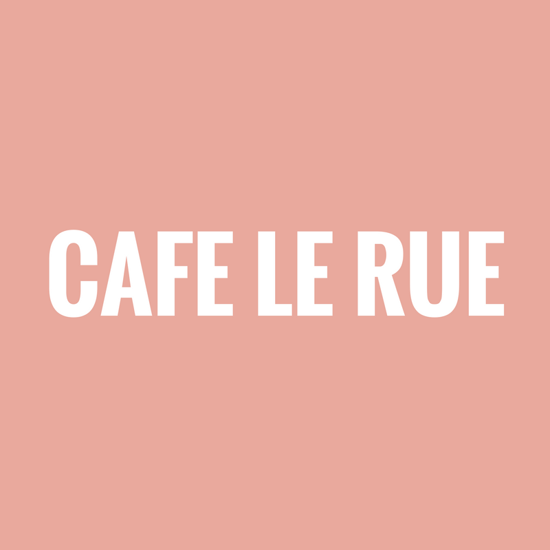 Cafe Le Rue