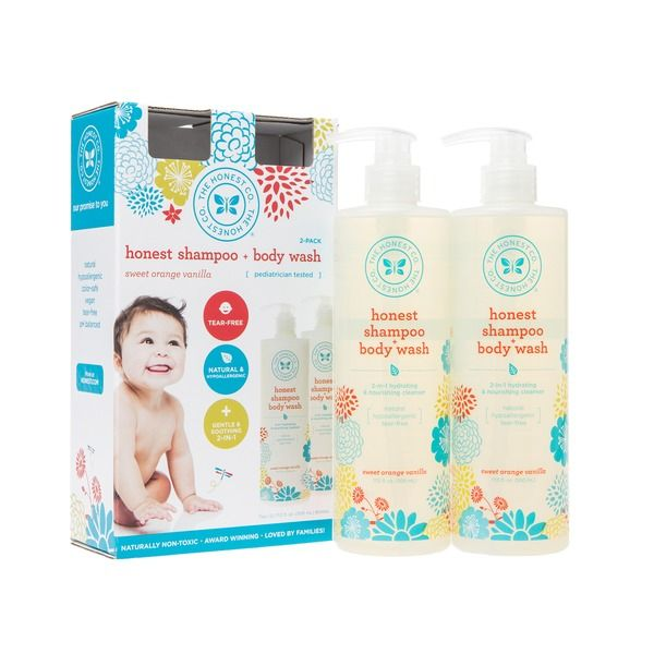 a043bfffd79 Baby Bath & Body Care. The Honest Company Sweet Orange Vanilla Baby Shampoo  & Body Wash